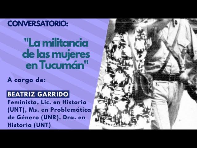 La militancia de las mujeres en Tucumán
