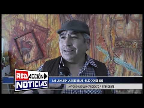 AUTORIDADES EN LAS MESAS - ELECCIONES 2019 - LAS HERAS SANTA CRUZ