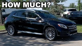 Here's How Much a Service Cost on a Mercedes GLA 250