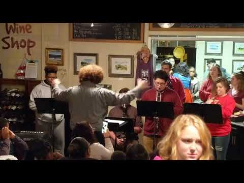 Montross Middle School Christmas show @The Art of Coffee(1)