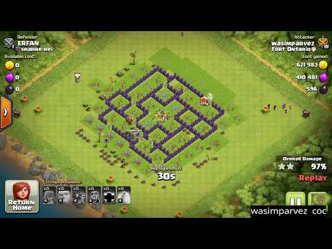 Attacking A Th7 Max Base Without Barbarian King