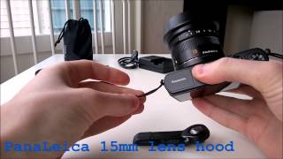 Panasonic GM1 / GM5 / GF7 tips & tricks