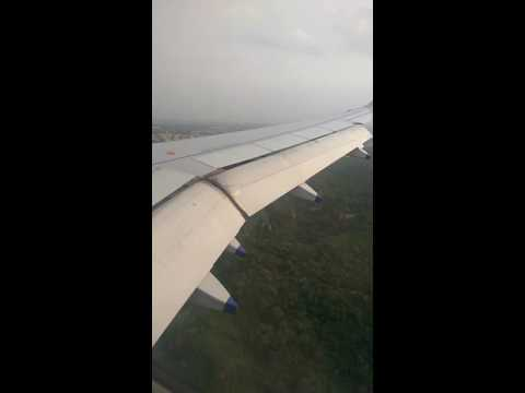 Amazing landing at delhi palam airport indigo airlines.