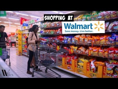 WALMART IN CHINA | BUYING IMPORTED FOODS