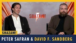 Peter Safran And David F. Sandberg Talk SHAZAM!