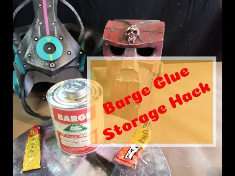 Barge Glue Storage Hack