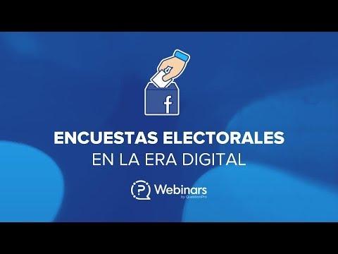 Encuestas electorales en la era digital | Webinar QuestionPro