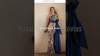 Colecciones de Vestidos de Fiesta - Valerio Luna en Rosalia Bolado Novias
