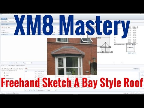 Sketch a Bay Window Roof