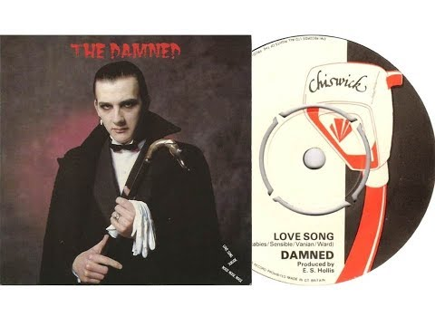 The Damned - Love Song (On Screen Lyrics/Slideshow)