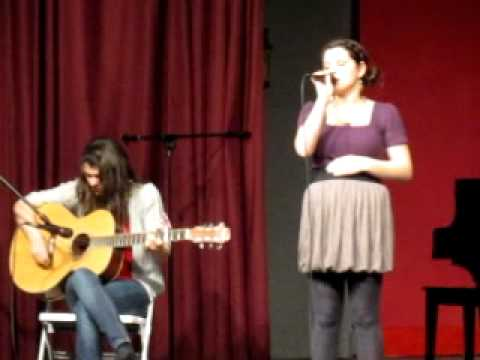 Sarah Jarvis singing Christina Perri's Jar of Hearts