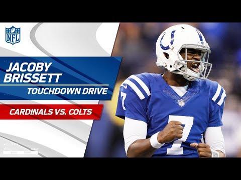 Jacoby Brissett's First Touchdown Drive as a Starter!   Cardinals vs. Colts   NFL Wk 2 Highlights