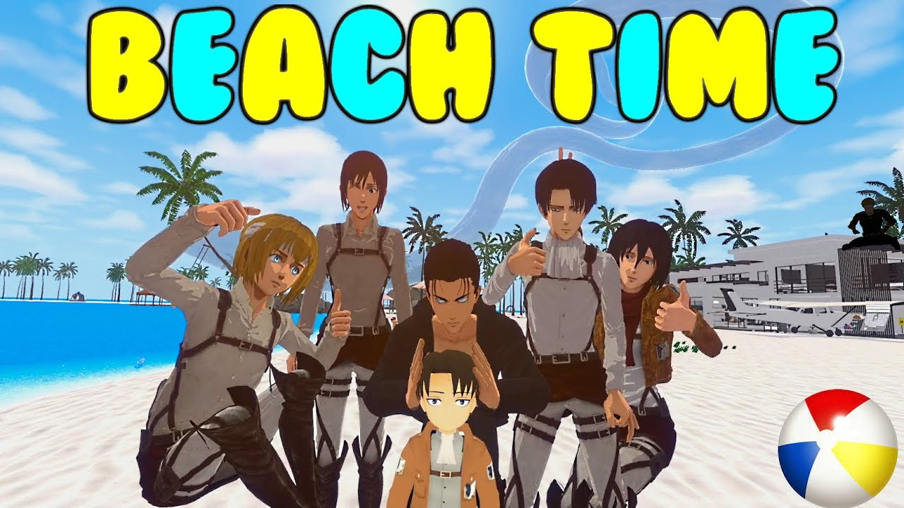 Scouts go to the Beach (AOT VR)