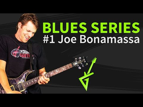 Blues Guitar Series #1: Joe Bonamassa Blues Lick Guitar Tutorial - Blues Deluxe
