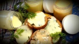 Безвредный плавленый сыр всего за 15 минут-в домашних условиях.Закуска на праздничный стол