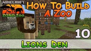 حديقة الحيوانات في ماين كرافت :: Lions Den :: كيفية بناء :: E10 :: Z واحد N فقط