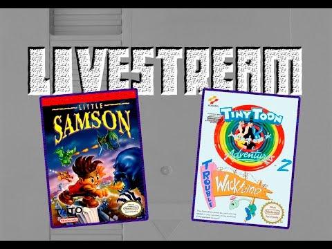 Livestream: Little Samson + Tiny Toon 2 - Trouble in Wackyland