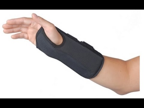 Splinting for Carpal Tunnel