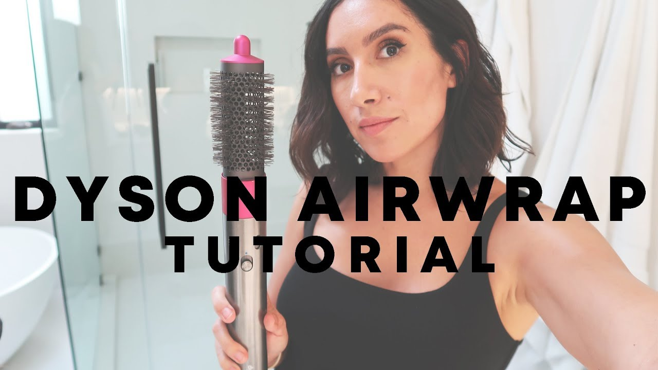 Dyson Airwrap Tutorial Jen Atkin Youtube