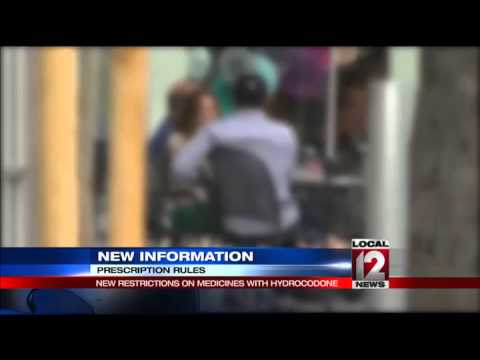 New restrictions on Hydrocodone to take effect