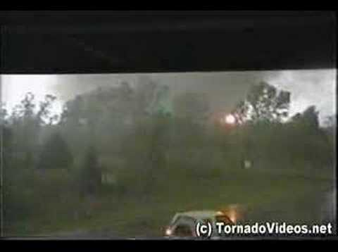 INCREDIBLE video of the last F-5 tornado - May 3, 1999