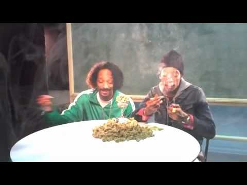 SnoopDogg And Wiz Khalifa - Mac And Devin Smoking On Young, Wild & Free
