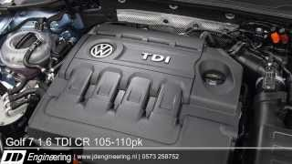 Golf 7 1.6 TDI 105-110pk BlueMotion 140pk 320Nm