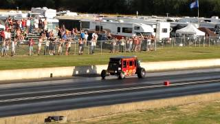 Woodburn Dragstrip Night of Fire, July 28th 2012