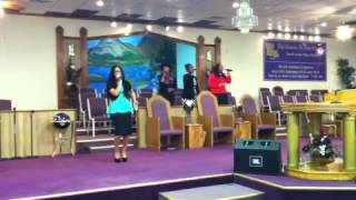 """Kayla Boyd- """"I Will Bless The Lord"""" @ CANO Top 10 Video"""