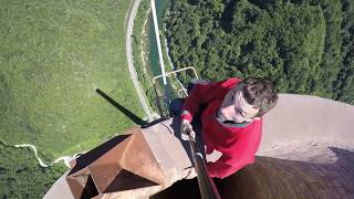 Komin w Trbovlje 360m