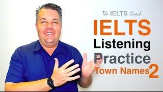 IELTS Spelling Test - Town Names 2