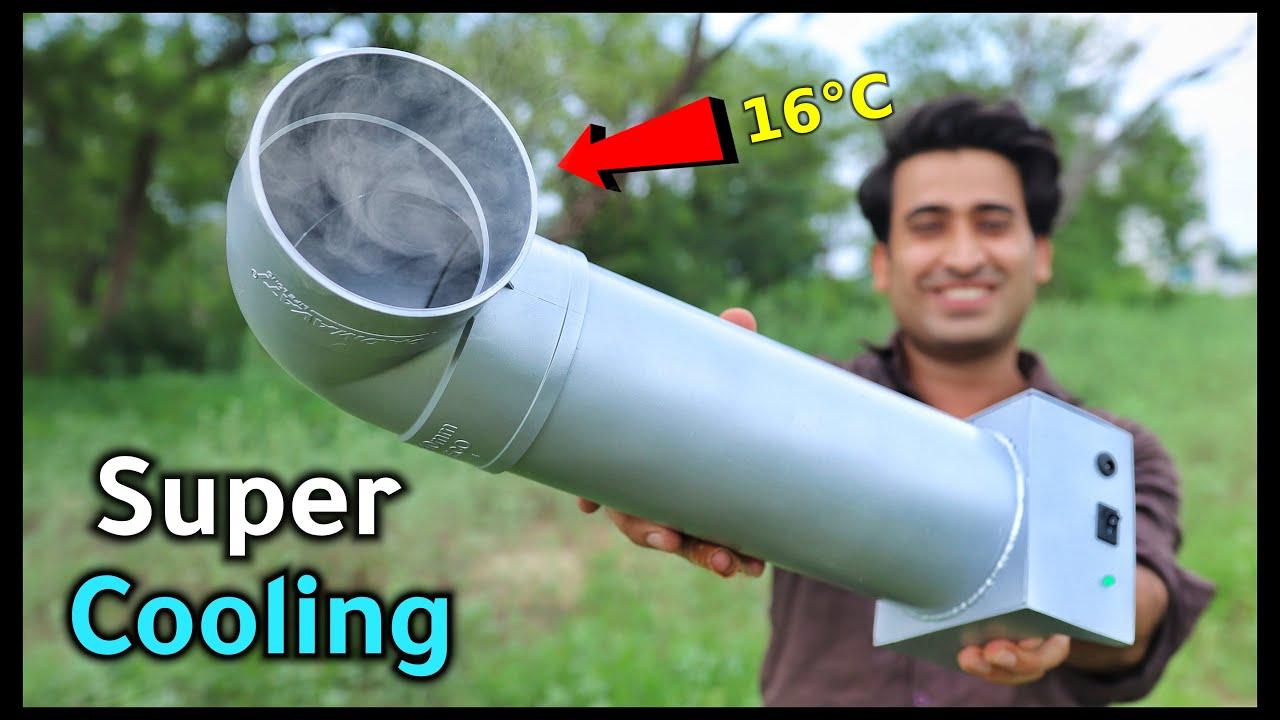 कबाड़े से बनाया Super Cooling Ac कमरे को फ्रिज़ बना देगा || New Idea