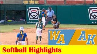 Redmond, WA vs Anchorage, AK Softball Game Highlights, 2021 Little League World Series
