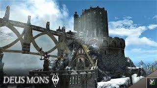 DEUS MONS: Castle Player Home!!- Xbox Modded Skyrim Mod Showcase