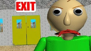 BALDIS SECRET MESSAGE AND NEW ENDING! | Baldis Basics in Education and Learning NEW UPDATE ENDING