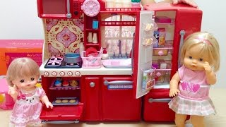 Gourmet Kitchen Toy : Mell-chan Doll and Nenuco Doll Cooking