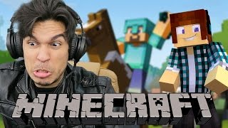 GUSTA NO MINECRAFT (ft. AuthenticGames)
