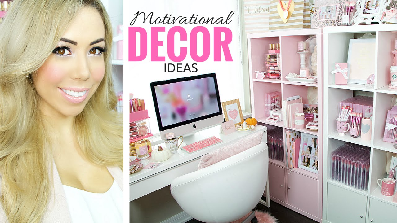 Decorate your Beauty Room or Office Space,♥♥ Quick and easy Motivational  ideas, SLMissGlam♥♥