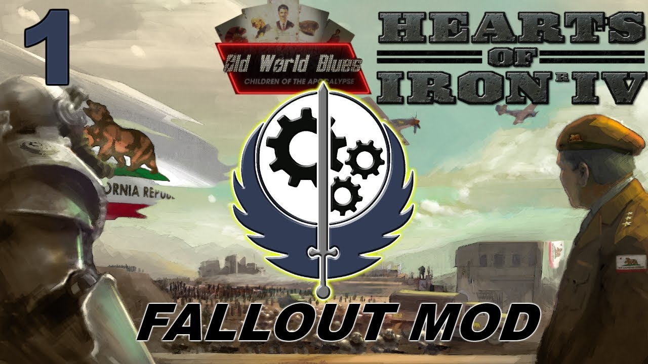 HoI4 - Old World Blues - Western Brotherhood - Fallout mod - Part 1