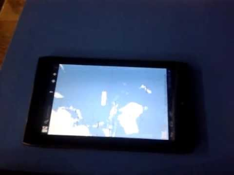 Acer Iconia Tab A100 weird non-response screen problem