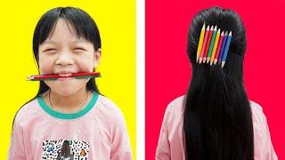 HCN Go School: An Binh Creative Idea With Pencil DIY Learn School Supplies   Pencil Crafts Ideas