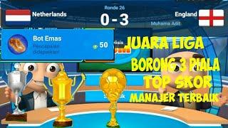 Juara Liga | Online Soccer Manajer | Manajer Sukses | OSM |