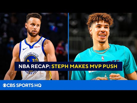 NBA Recap: Stephen Curry drops 49 points  LaMelo Ball cleared to start return  CBS Sports HQ