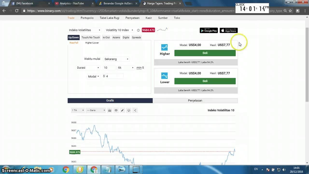 forex trading tidak ada setoran minimum cara trading binary rf