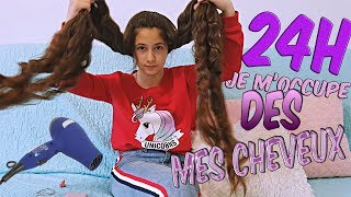 24 HEURES JE M'OCCUPE DES MES CHEVEUX CHALLENGE//Melle Sabina.