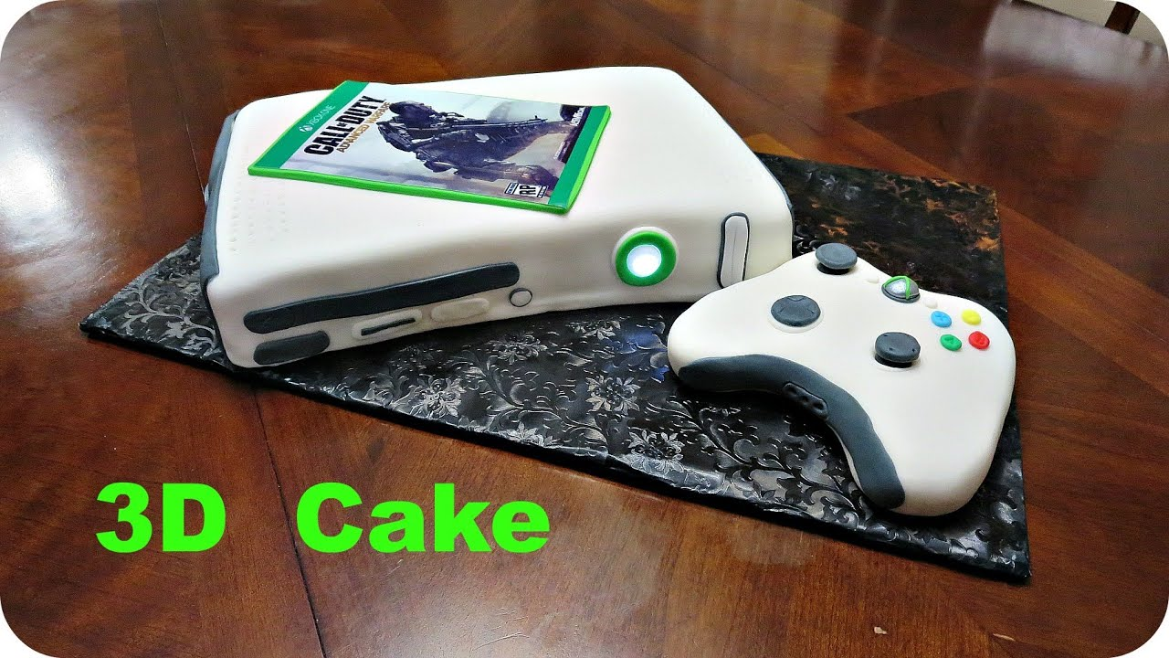 Xbox Cakes How To Make One