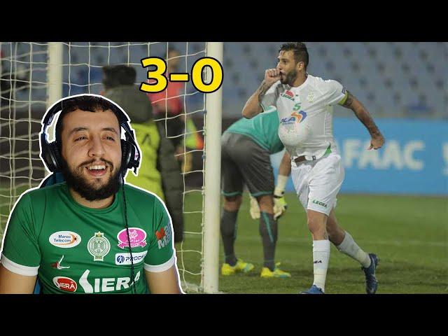 ردة فعل جزائرعلى مباراة الرجاء البيضاوي ضد الإسماعيلي المصري 🔥🔥 ثلاثية رائعة
