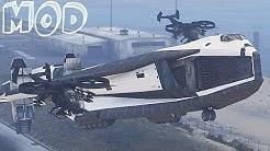 AVATAR TAV 37 Valkyrie SSTO Shuttle from Avatar SPACESHIP /GTA 5 Mods