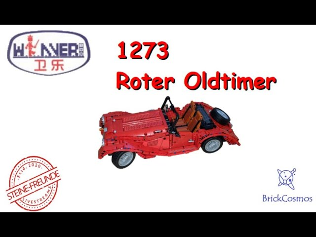 Folge 18 - Winner Bricks Technique Roter Oldtimer 1273