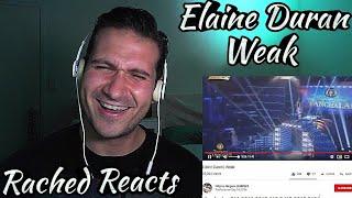 Coach Reaction - Elaine Duran - Weak